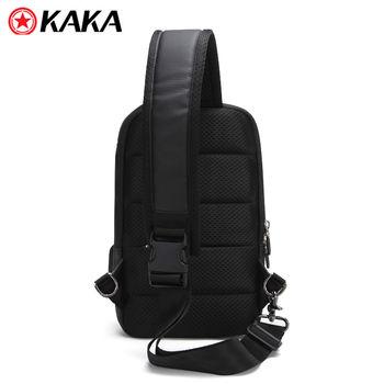 купить Рюкзак-Барсетка Kaka - 852 c USB-портом, водонепроницаемaя, черный в Кишинёве