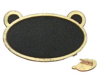 """Табличка для растениеводства Memo """"Медведь"""" 7.5X4.5cm"""