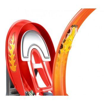 купить Mattel Hot Wheels Power Трек Безумный форсаж с 5 машинками в Кишинёве