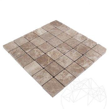 купить Мозаика Мраморный Светлый Император Устаревший 4.8 x 4.8cm в Кишинёве