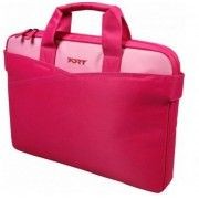 """PORT NB bag 15.6"""" - Fashion Line / MANHATTAN PINK / - Clamshell bag for notebook  - shoulter & trolley strap - organiser pocket- compartment for documents-  screen protector - Balistic nylon"""