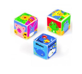 купить Набор игрушек для купания Baby Mix (3 шт) в Кишинёве
