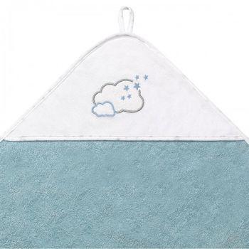 купить Полотенце махровое Babyono с капюшоном (100x100 см) в Кишинёве