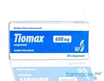 купить Tiomax comp.600 mg N10x3 (Balkan) в Кишинёве