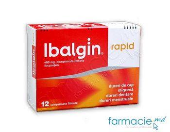 купить Ибалгин рапид табл. 400 мг N6x2 в Кишинёве