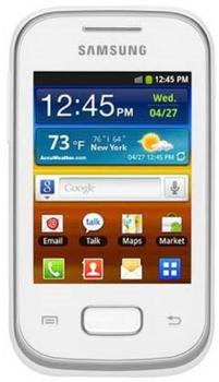 Samsung S5303 Galaxy Y Plus White 2 SIM (DUOS)