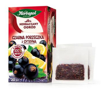 Чай фруктовый Tea Garden Blackcurrant with Lemon, 20 шт