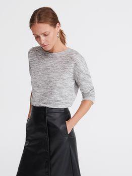 Блуза RESERVED Светло-серый