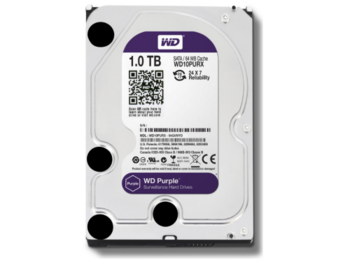 "купить 3.5"" HDD 1.0TB  Western Digital WD10PURZ Caviar® Purple™, IntelliPower, 64MB, SATAIII в Кишинёве"