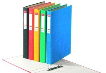 Папка сегрегатор Rainbow, 40mm (синий)