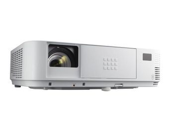 """купить DLP Full-HD Projector 4000Lum, 10'000:1 NEC """"M403H"""", White IMAGE  Projection Technology 1-chip DLP™ Technology  Native Resolution 1920 x 1080 (Full HD)  Aspect Ratio 16:9  Contrast Ratio 1 10000:1  Brightness 1 4000 ANSI Lumen (approx. 60% in Eco Mode)  Lamp 270 W AC (162 W AC Eco Mode)  Lamp Life [hrs] 8000 Eco / 5500 Normal / 3500 High Bright Mode  Lens F= 2.4–3.2, f= 18–30.6 mm  Keystone correction +/- 25° manual horizontal / +/- 30° automatic / manual vertical  Projection Angle [°] 9.9 - 17.9  Projection Factor 1.2 – 2.1 : 1  Projection Distance [m] 0.74 – 14.08  Screen Size (diagonal) [cm] / [inch] 76.2 / 30"""" - 762 / 300""""  Zoom Manual  Focus Adjustment Manual  Supported Resolutions 1920x1200 (Maximum resolution of analog input); 1920 x 1080 (Maximum resolution of digital input); 1920 x 1080 (HDTV 1080i/60; HDTV 1080i/50); 1680 x 1050 (WSXGA+); 1600 x 1200 (UXGA); 1600 x 900 (WXGA++); 1440 x 900 (WXGA+); 1400 x 1050 (SXGA+); 1366 x 768 (WXGA); 1360 x 768 (WXGA); 1280 x 1024 (SXGA); 1280 x 1024 (MAC 23""""); 1280 x 960 (SXGA); 1280 x 800 (WXGA); 1280 x 768 (WXGA); 1280 x 720 (HDTV 720p); 1152 x 870 (MAC 21""""); 1152 x 864 (XGA); 1024 x 768 (XGA); 832 x 624 (MAC 16""""); 800 x 600 (SVGA); 720 x 576 SDTV 480p/480i; 720 x 576 (DVD progressive); 720 x 480 SDTV 576p/576i; 720 x 480 (SDTV 480p); 640 x 480 (VGA/MAC 13"""")  Frequency Horizontal: 15–100 kHz (RGB: 24 kHz– 100 kHz); Vertical: 50 – 120 Hz; Vertical: 50 – 120 Hz (HDMI: 24 Hz)   CONNECTIVITY  RGB (analog) Input: 1 x Mini D-sub 15-pin, compatible to component (YPbPr)  Output: 1 x Mini D-sub 15 pin   Digital Input: 2 x HDMI™ (Deep Color, Lip sync)   Video Input: 1 x RCA   Audio Input: 1 x 3.5 mm Stereo Mini Jack; 1 x RCA Stereo  Output: 1 x 3.5 mm Stereo Mini Jack (variable)   Microphone Input: 1 x 3.5 mm Monaural Mini Jack (Dynamic mic / Condenser mic)   Control Input: 1 x D-Sub 9 pin (RS-232) (male)   LAN 1 x RJ45; Optional WLAN  USB 1 x Type A (USB 2.0 high speed); 1 x Type B  3D Sync Output: 1 x Mini DIN 3pin  """