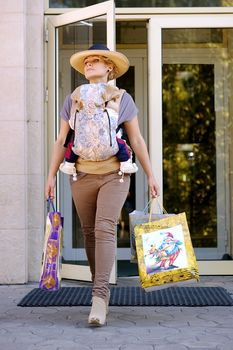 купить Эрго рюкзак NapBag by Bagy Shabby Beige в Кишинёве