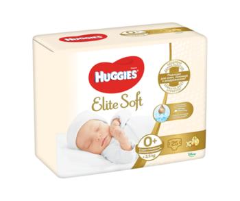 cumpără Scutece Huggies Elite Soft 0+ (<3,5 kg), 25 buc. în Chișinău