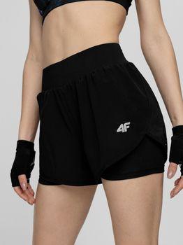 купить Шорты H4L21-SKDF010 WOMEN-S FUNCTIONAL SHORTS DEEP BLACK в Кишинёве