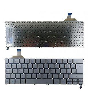 Keyboard Acer Aspire S7-391 w/o frame w/Backlit ENG. Silver