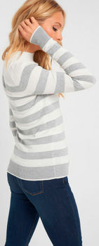 Трикотаж ORSAY Серый в полоску orsay 507062