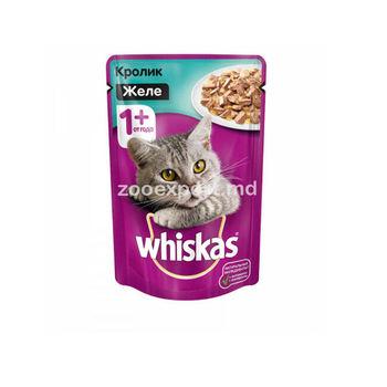 купить Whiskas желе с кроликом в Кишинёве