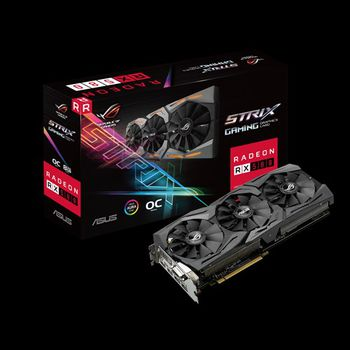 купить VGA card PCI-E ASUS STRIX-RX580-O8G-GAMING в Кишинёве