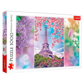 "Пазлы ""1000"" - ""Spring in Paris"" , код 40124"