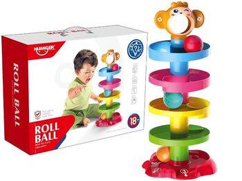 Игра развивающая Горка для шариков