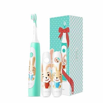 "XIAOMI ""Soocas Children Sonic Electric Toothbrush"", Green, 3 cleaning modes, APP control, APP grading function with built-in sensors, IPX7, 0.31kg"