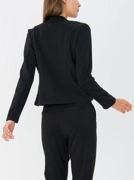 Пиджак TOM TAILOR Чёрный