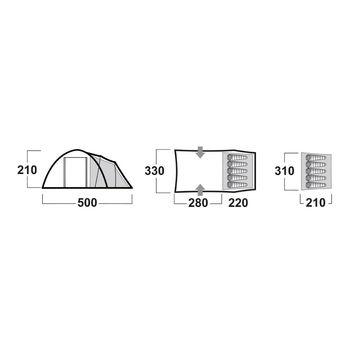 купить Палатка Husky Boston 5, 1H0-9977 в Кишинёве