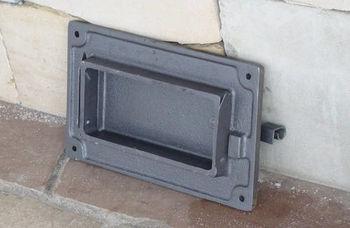 Дверца чугунная глухая правая DPK3