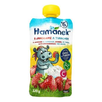 cumpără Hamanek Piure măr, căpșună 120g în Chișinău