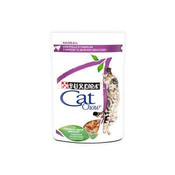Cat Chow Hairball курица и зеленая фасоль
