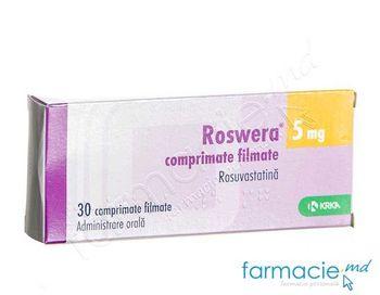 купить Roswera® 5 mg comp. film. N10x3 в Кишинёве