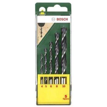 Bosch Набор сверл по дереву 5штук 2607019440