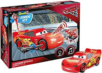 Model de asamblat Revell Lightning McQueen, 00860, cod 43796