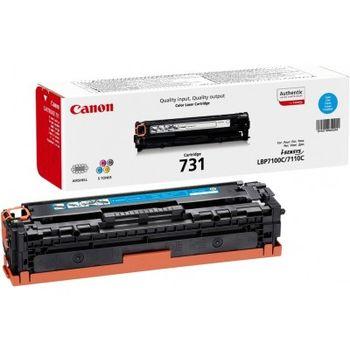 Cartridge Canon 731 (HP CF211A (131A)), cyan (1500 pages) for LBP7100C/ 7110C, MF-8230/8280 & HP LaserJet Pro 200 Color