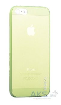 cumpără Hoco Thin Series case PC iphone 5/5s, Green în Chișinău
