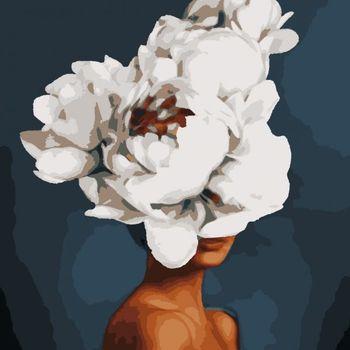 "Artissimo ""Шикарный цветок"", 3 *, 17 цветов, 50x60 см."