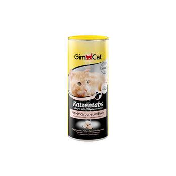 Gimcat таблетки для кошек с маскарпоне и биотином 20 шт.