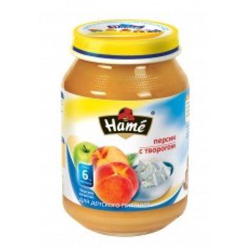 cumpără Hame piure din piersici și brînzică 6+ luni, 190 g în Chișinău
