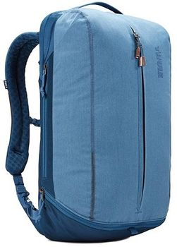 "15.6"" NB Backpack - THULE Vea 21L, Light Navy, Safe-zone, Polyester melange, 800D nylon, Dimensions: 31 x 24 x 50 cm, Weight 1.2 kg, Volume 21L"