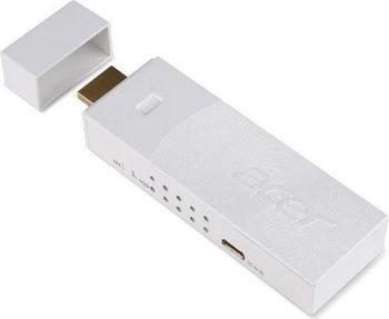 ACER (MC.JKY11.007) MWA3 HDMI/MHL Wi-Fi adapter Euro Type 802.11 b/g/n Realtek 8192EU, White