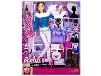 "Набор кукла с аксес.""Fashion Dol"", 32X25X7cm"