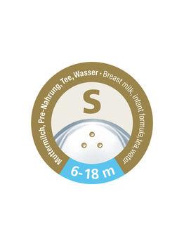 купить Соска силиконовая NUK NS для жидкостей S (6-18 мес) 2 шт в Кишинёве