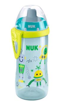 купить Nuk поильник с силиконовой соломинкой в Кишинёве