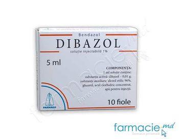 купить Дибазол, раствор для инъекций1% 5 мл № 10 (Farmaco) в Кишинёве