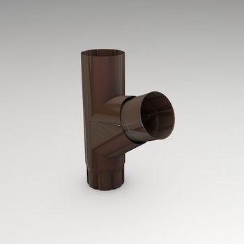 купить Тройник (87mm) RAL-8017 в Кишинёве