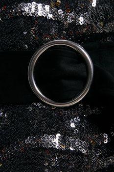 Платье ZARA Черный с блестками 2878/477/802