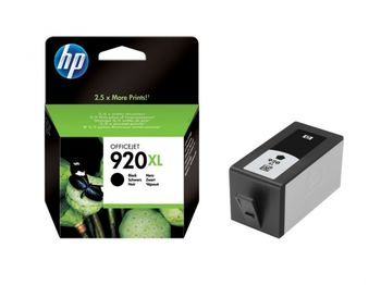 HP No.920XL OfficeJet Ink Cartridge, Black 1200 pages for HP OfficeJet 6000 Printer