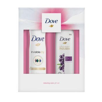 Cadou DOVE WOMEN ACAI (Shower Mousse 200ml + Deo 150ml)