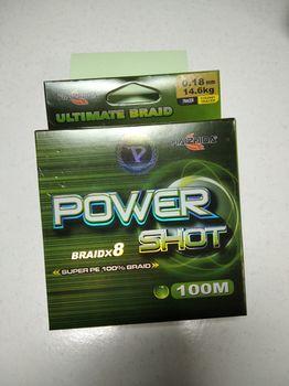 Шнур 100 метров, Power Shot (0.18мм)