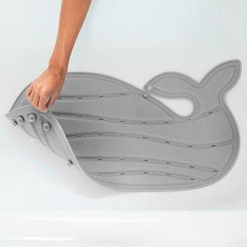 купить Коврик для ванны нескользящий Skip Hop Moby серый в Кишинёве